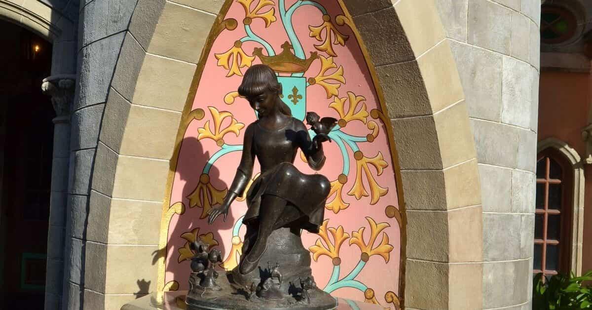 Cinderella Fountain found in Magic Kingdom