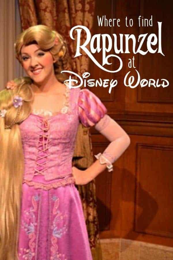 Where to find Rapunzel in Disney World