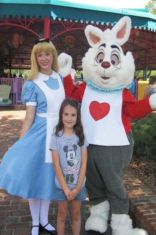 Alice in Wonderland in Magic Kingdom