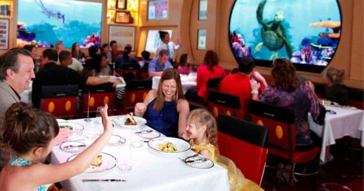 Disney Dream Restaurants for Families & Adults