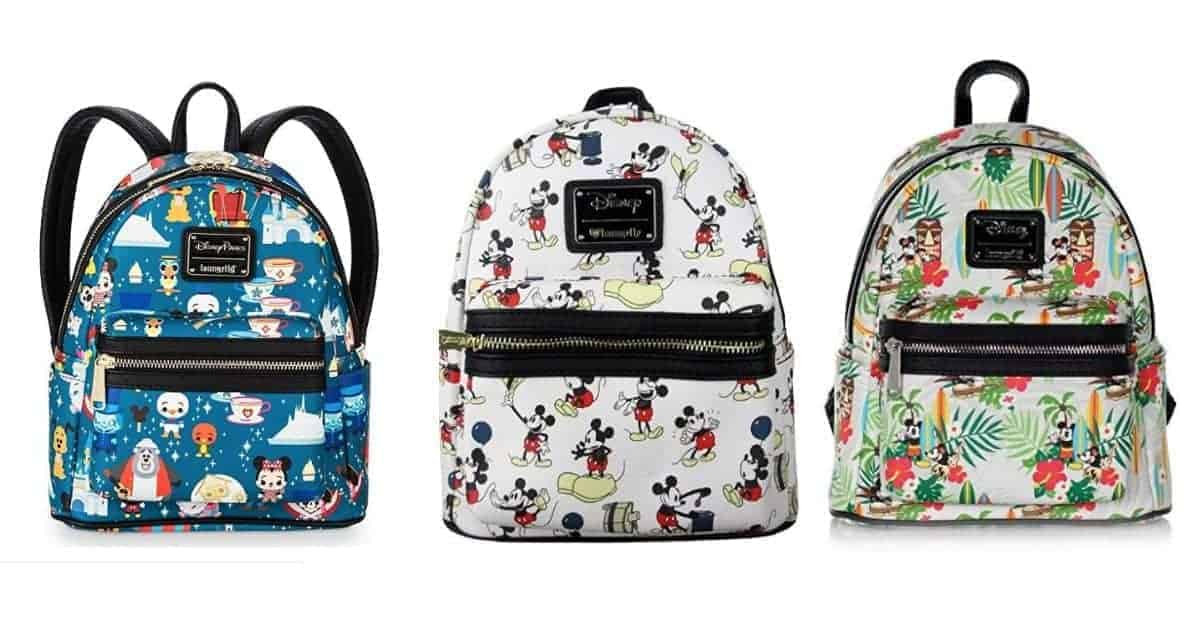 Cute Disney themed backpacks