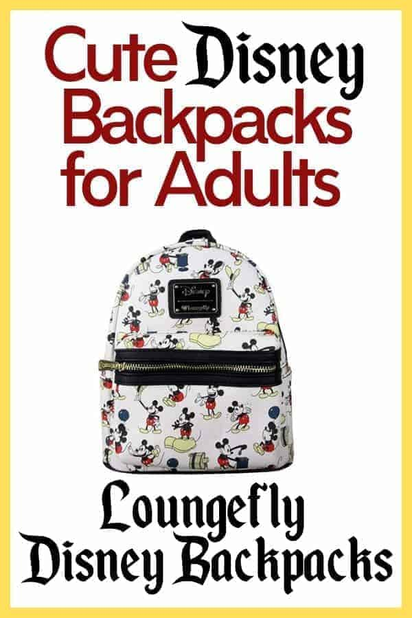 Cutest Disney Backpacks for Adults