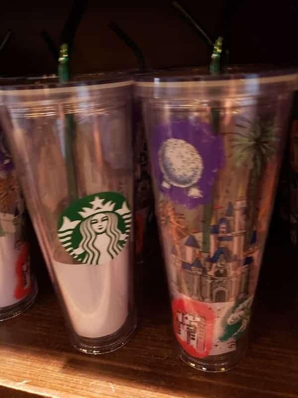Disney Starbucks Tumblers