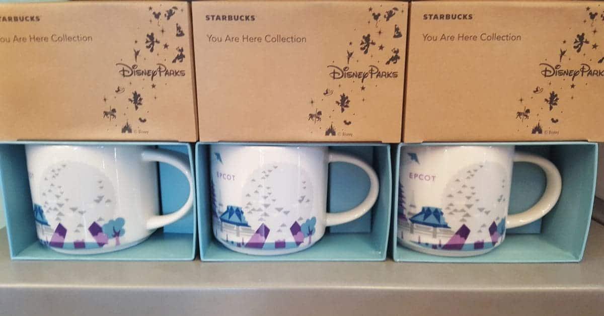 Epcot You are Here Starbucks Mugs