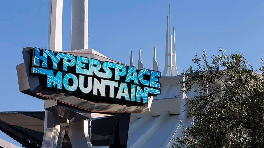 Hyperspace Mountain Disneyland California