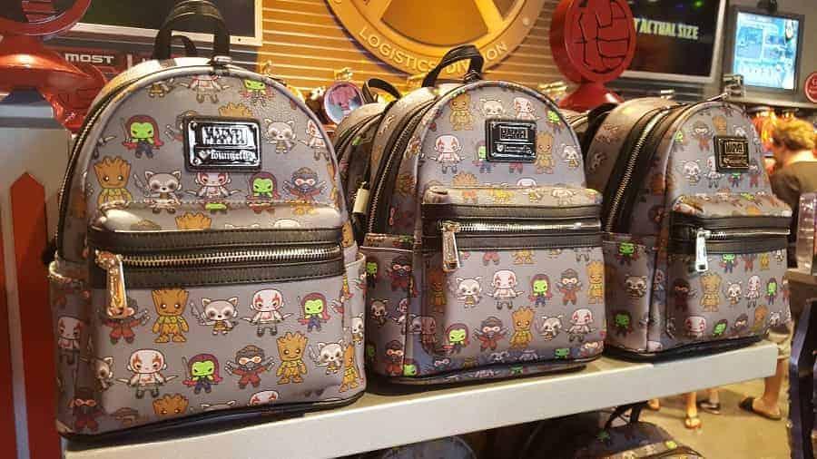Marvel Loungfly Backpack in Disney Springs