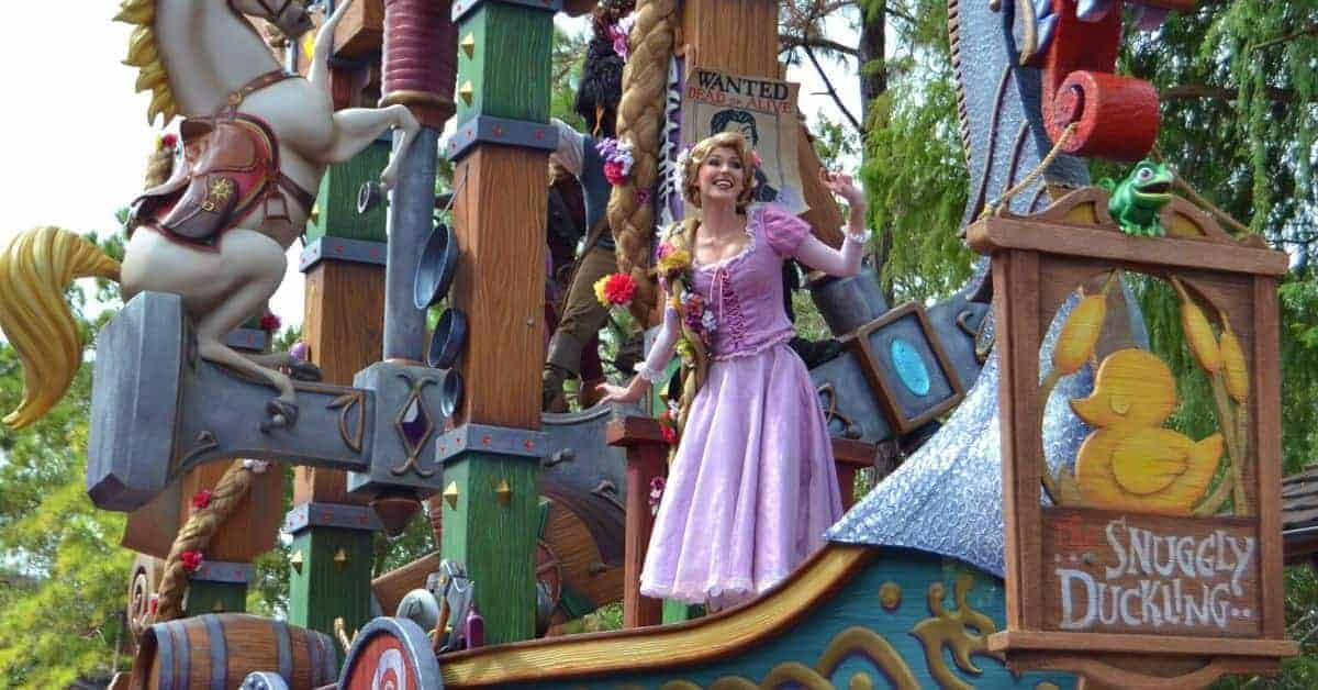 Locations where you find Rapunzel at Disney World