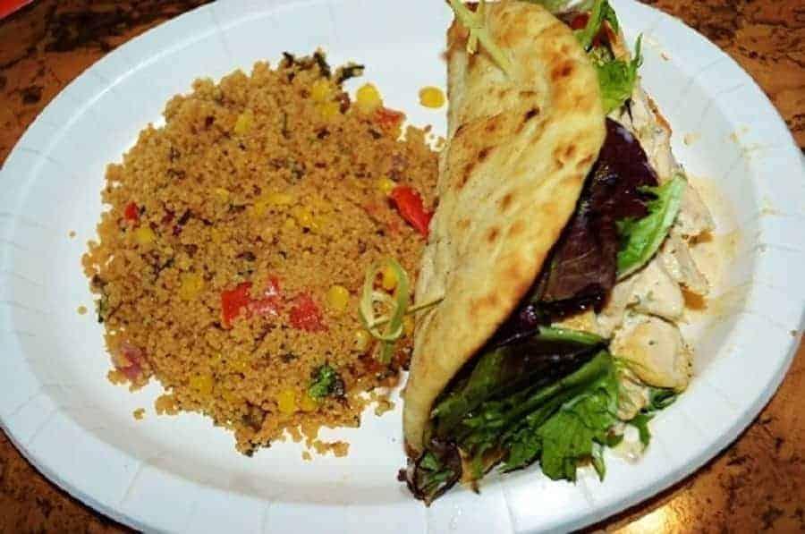 Meal at Animal Kingdom Mara