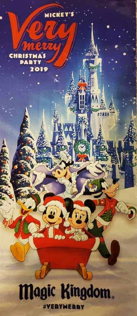 2019 Mickey's Christmas Party Pamphlet