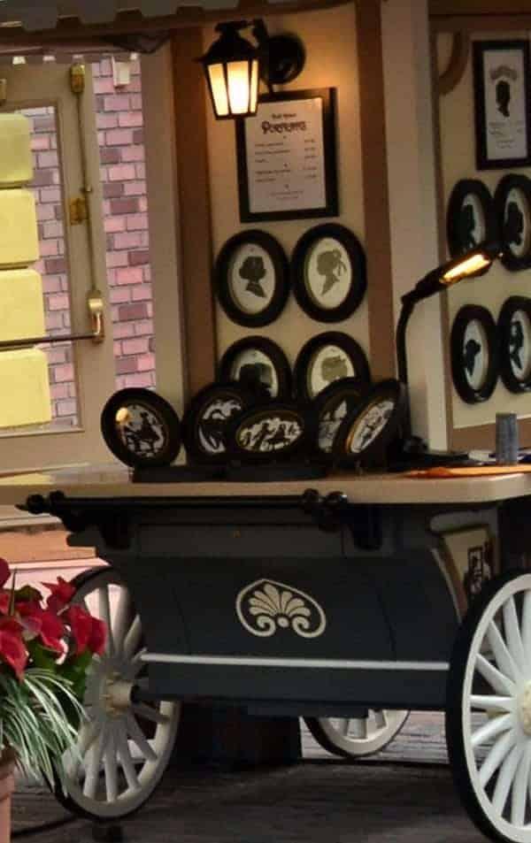 Disney Portrait Cart