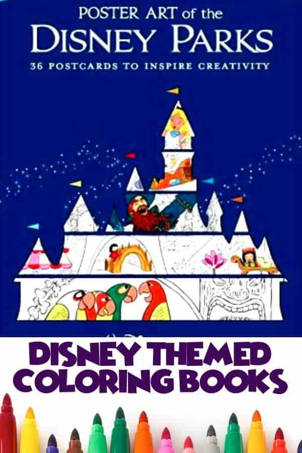 Our Favorite Disney Adult Coloring Book Choices