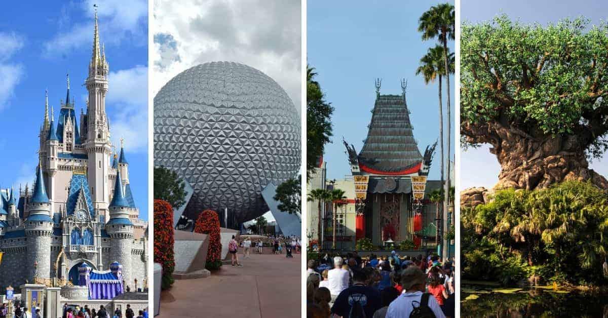 Walt Disney World in Florida Theme parks