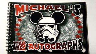 Star Wars Personalized Disney Autograph Book