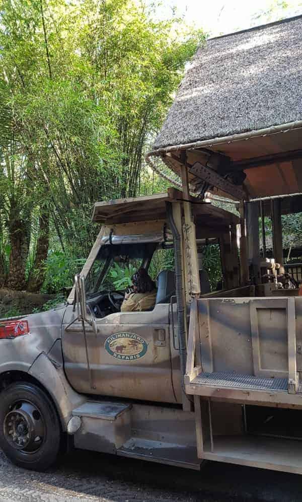 Kilimanjaro Safari Tour in Animal Kingdom