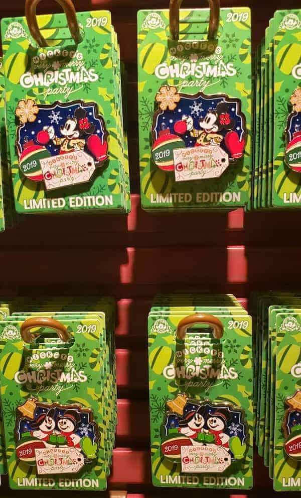 2019 Disney Christmas Party Pins