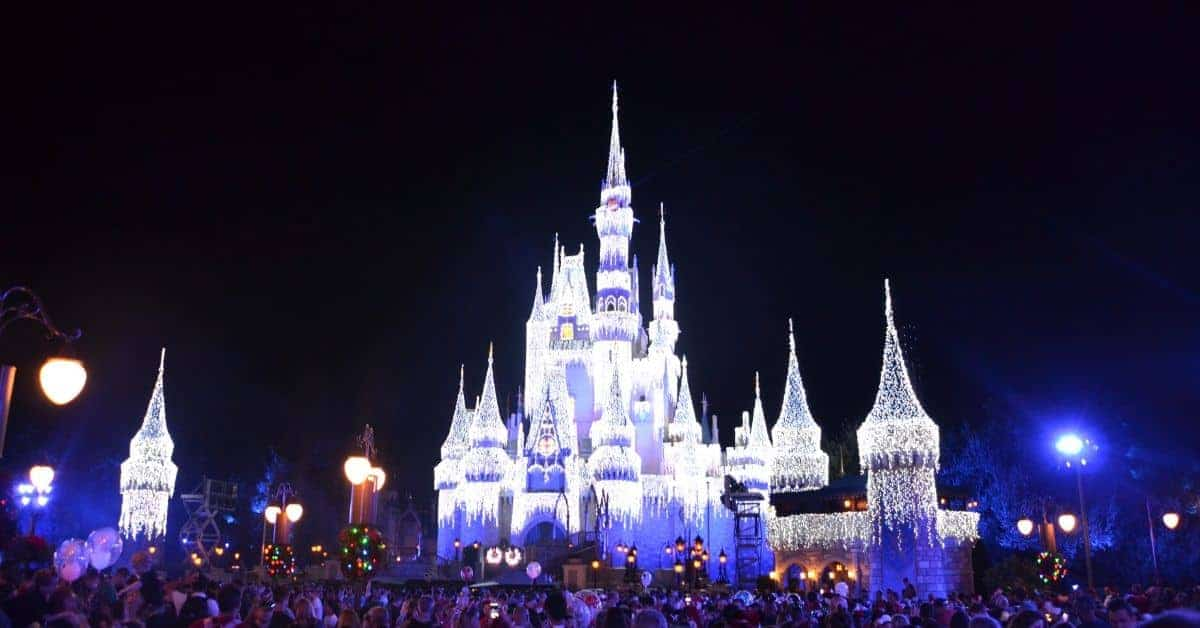 Mickey's Very Merry Christmas Party at Night