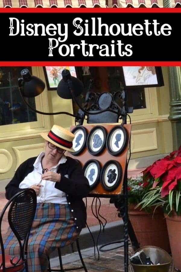 Disney Silhouette Portraits