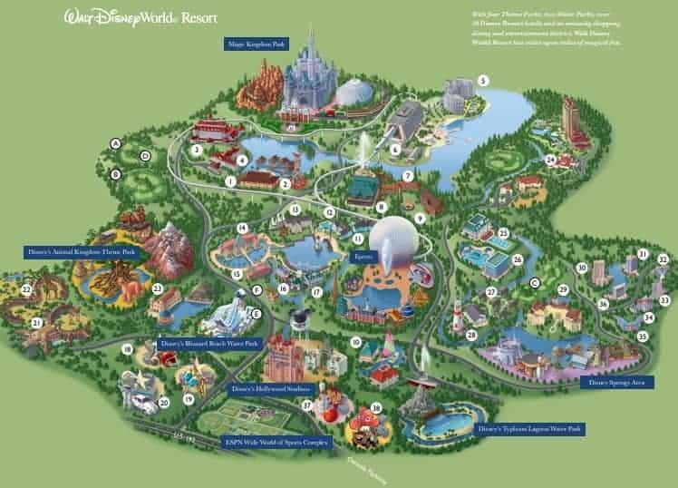 Disney World Map
