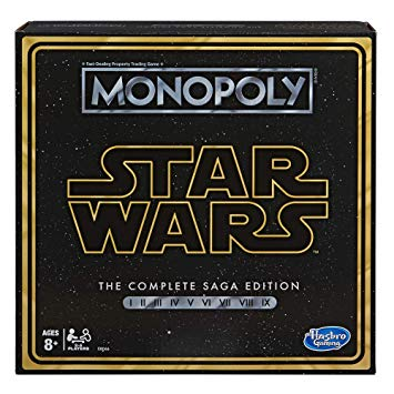 Monopoly: Star Wars Complete Saga Edition Board Game
