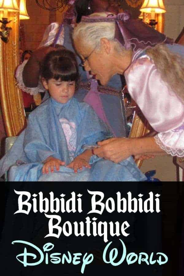 Bibbidi Bobbidi Boutique at Disney World