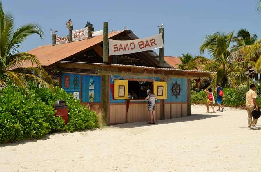 Castaway Cay Sand Bar