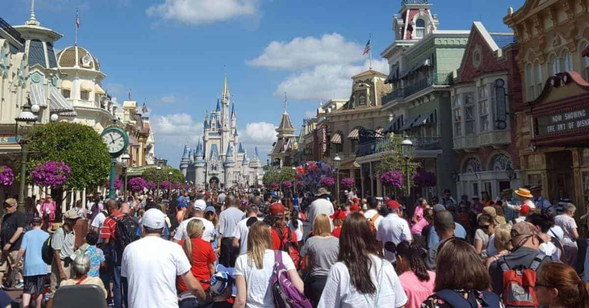 Crowds at Disney Parks