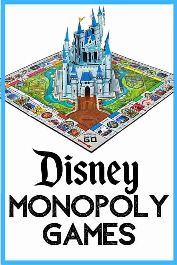Disney Monopoly Games We Love
