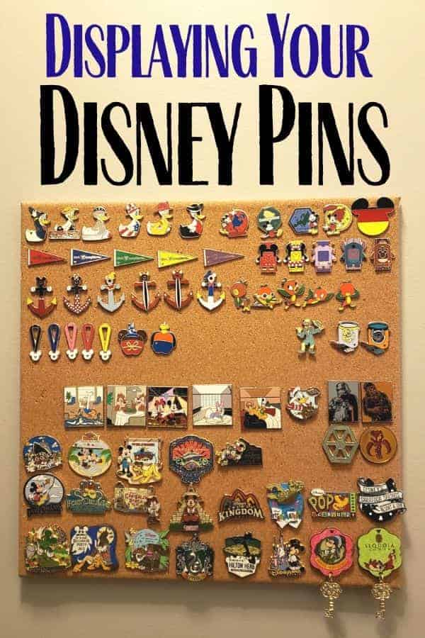 Ideas for Displaying Disney Pins