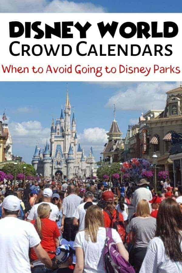 How to use Disney World Crowd Calendars