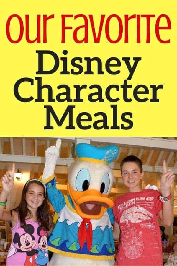 5 Best Character Dining at Disney World