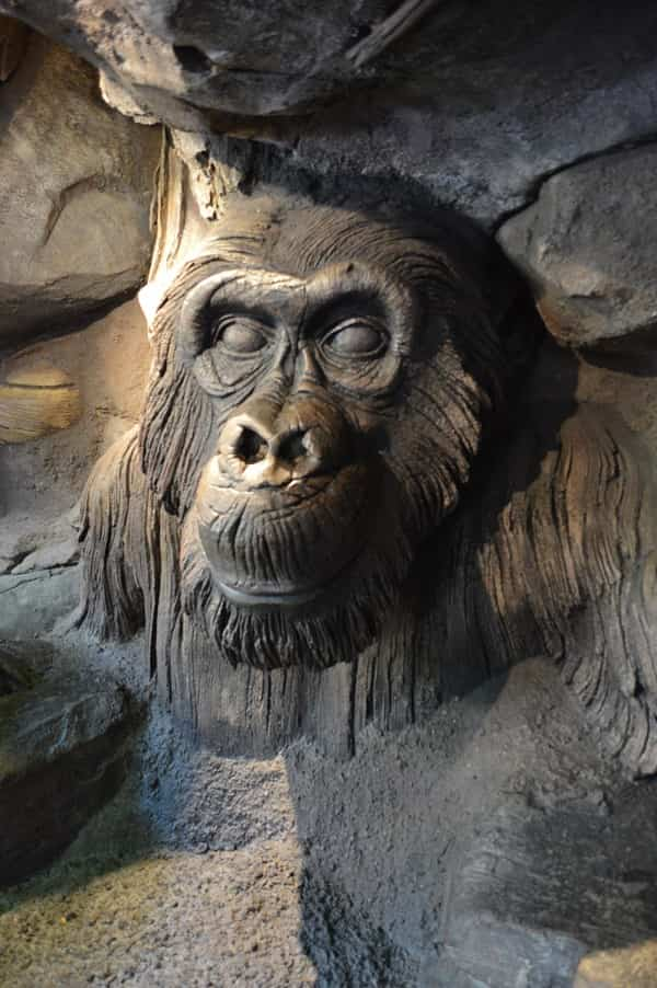 Tree of Life Gorilla Carving