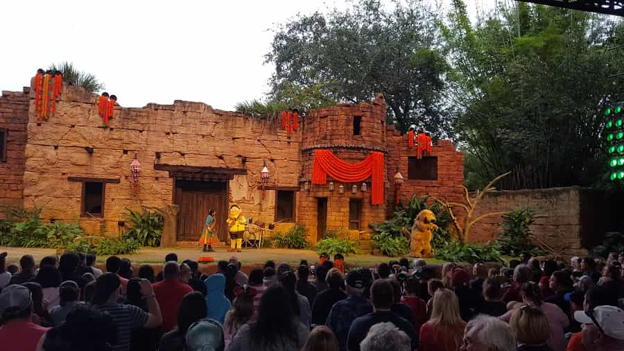 UP Show in Animal Kingdom