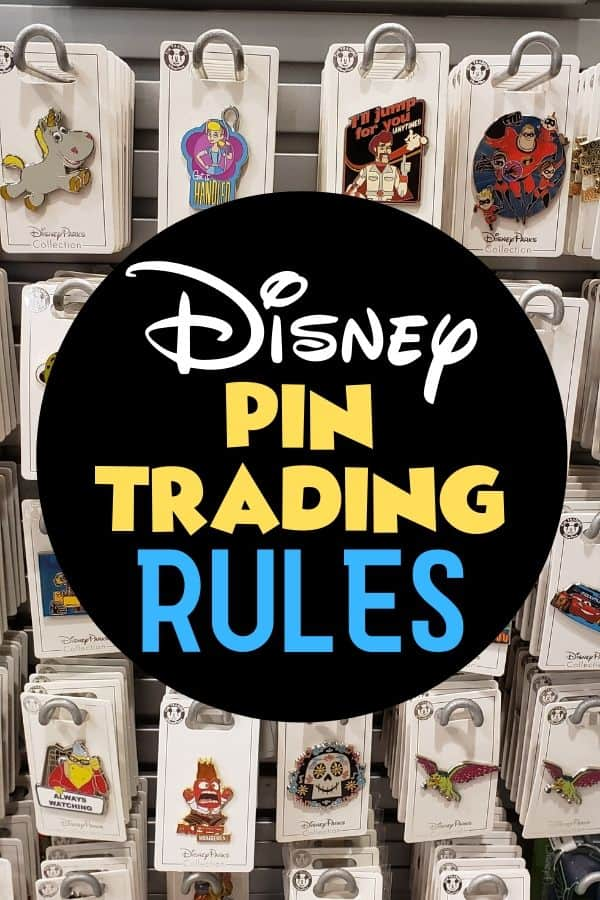 Disney Pin Trading Rules