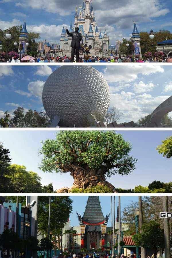 Walt Disney World Parks in Florida
