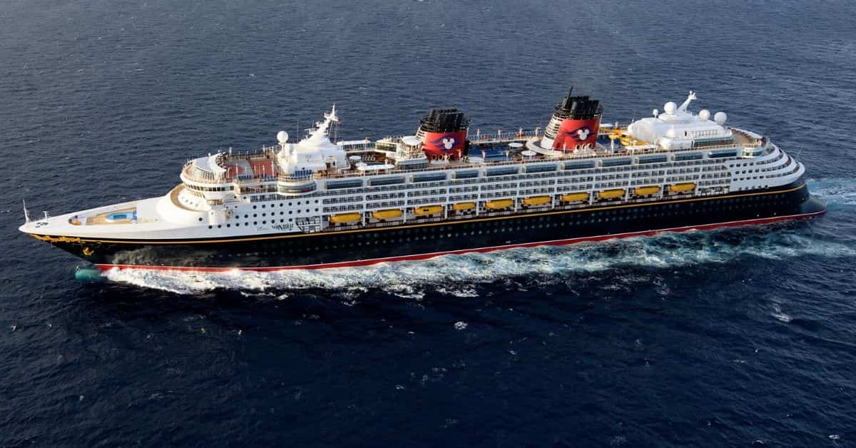 Abord the Disney Wonder Cruise Ship