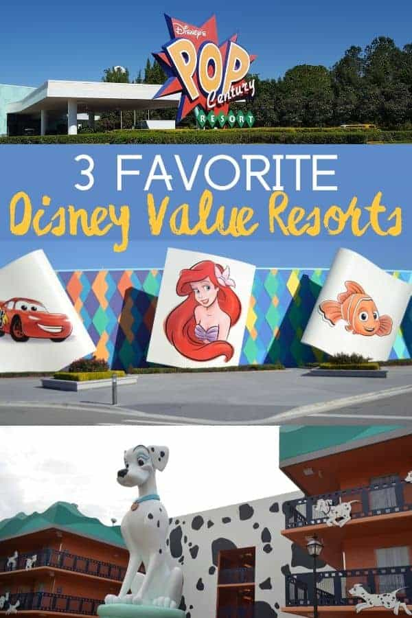 3 BEST Disney Value Resorts for Traveling on a Budget