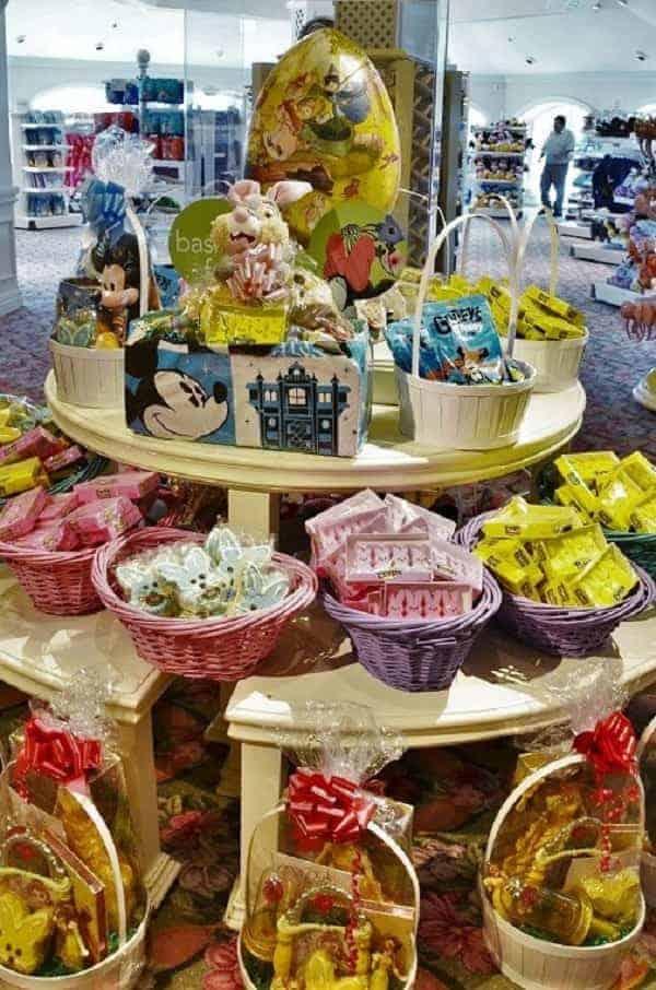 Easter Baskets at Disney World