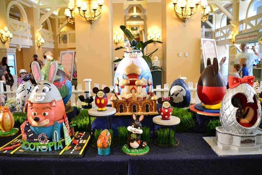 Easter Eggs at Beach Club Resort