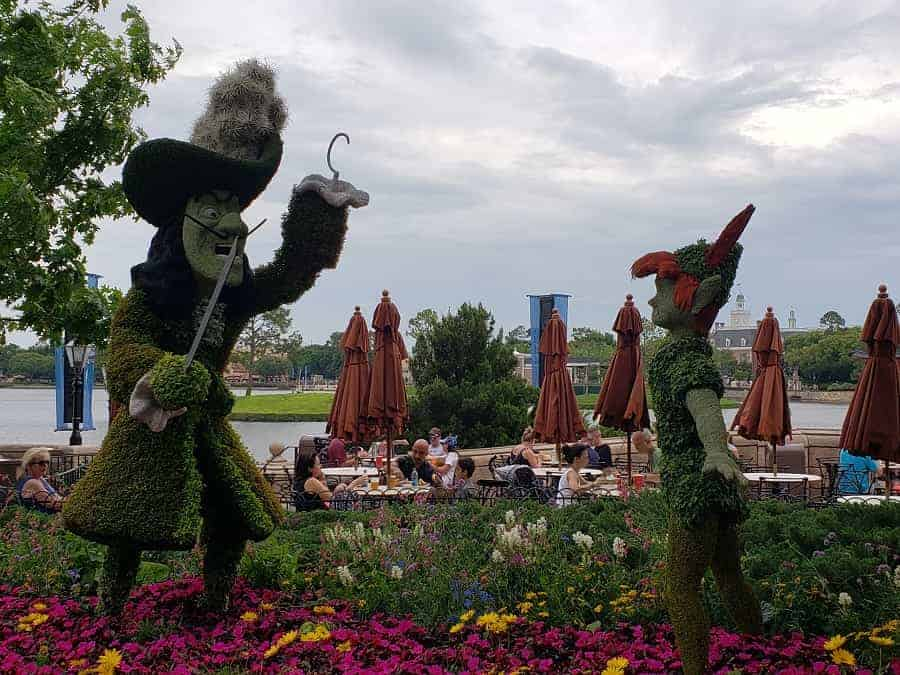 Epcot Flower & Garden Hook Topiary