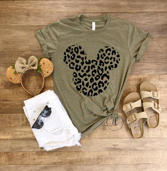 Mouse Cheetah Tee