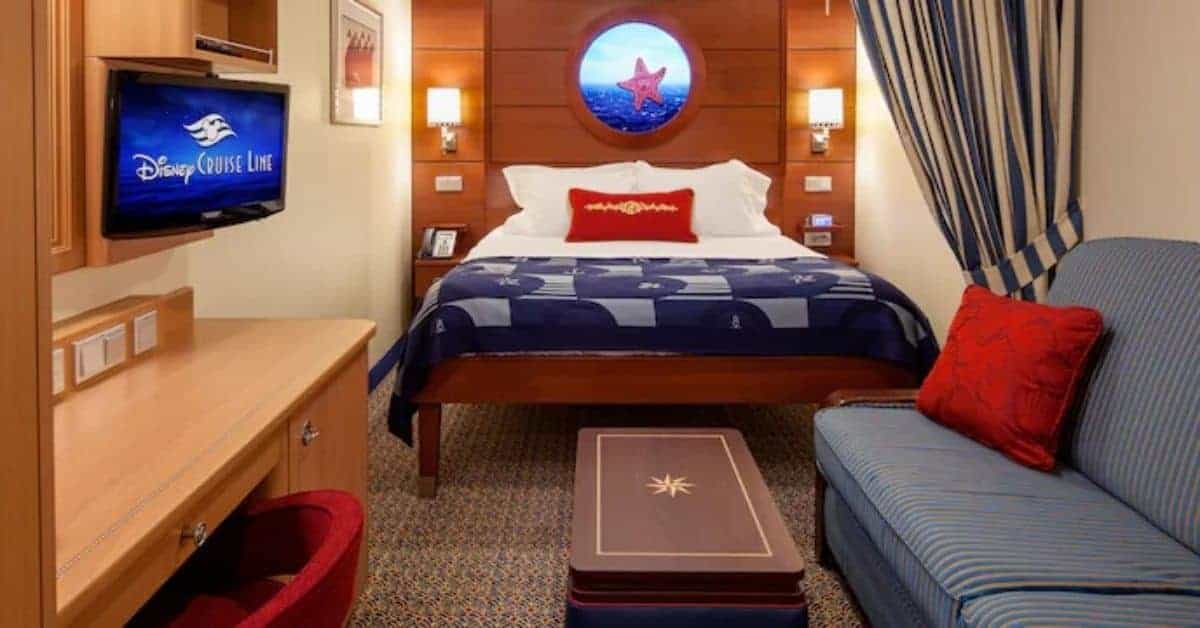 Inside Stateroom on the Disney Dream