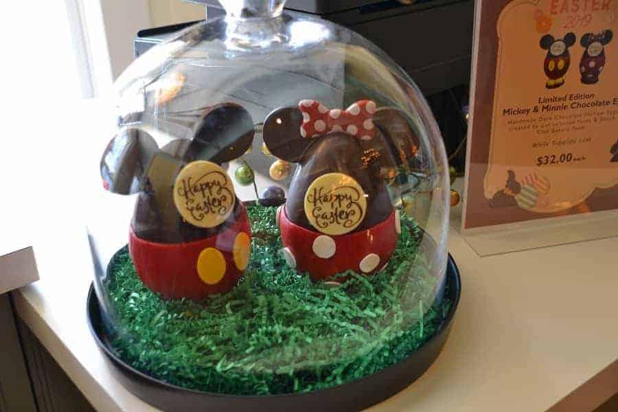Mickey & Minnie Chocolate Eggs