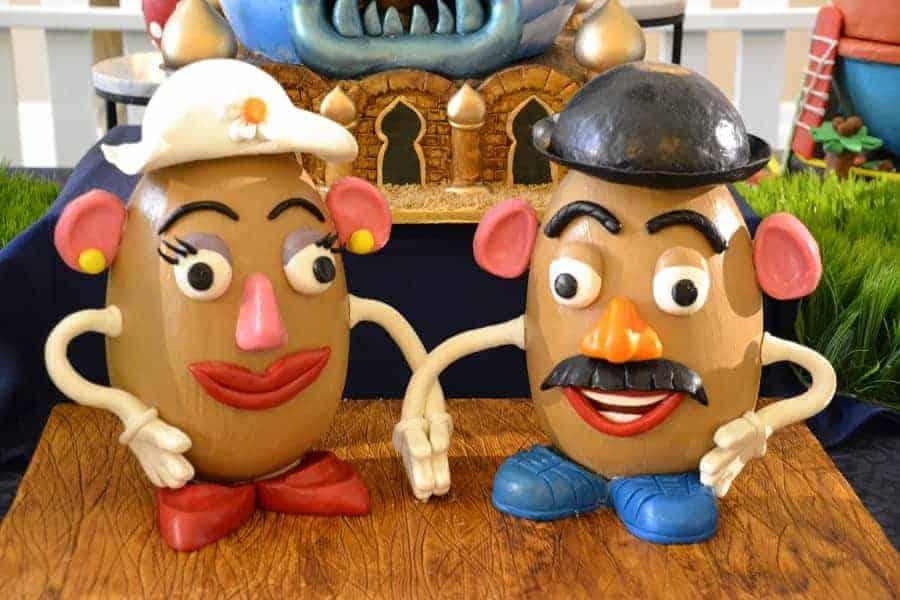 Potato Head Easter Eggs