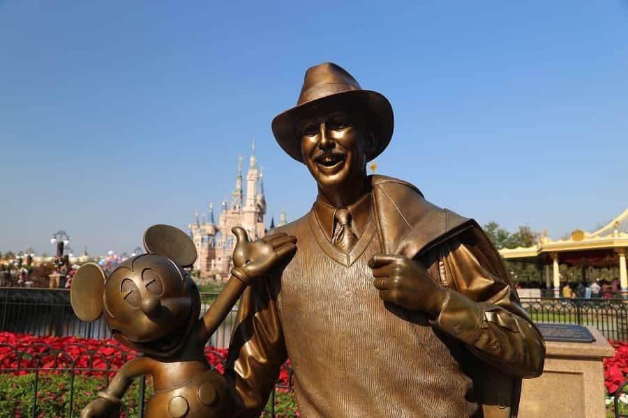 Statue at Shanghai Disneyland