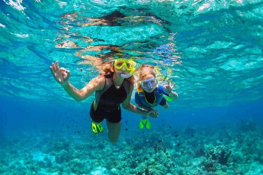 Snorkeling in Nassau