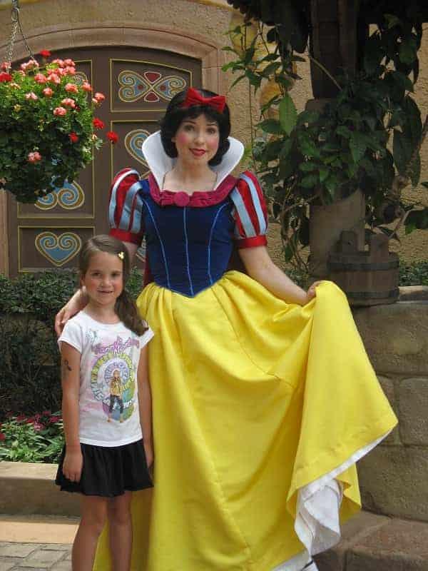 Snow White in EPCOT