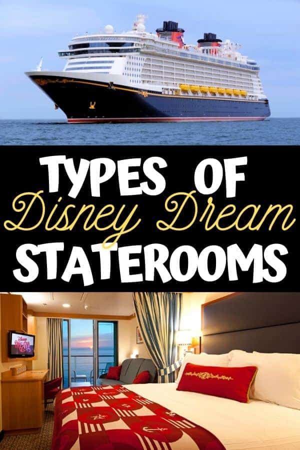 Types of Disney Dream Staterooms