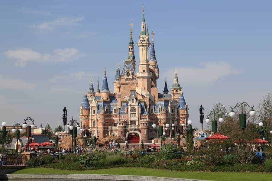 Storybook Castle in Shanghai Disneyland