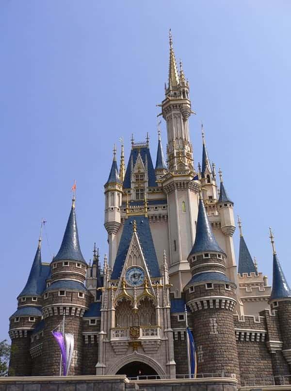 Cinderella Castle in Disneyland Tokyo