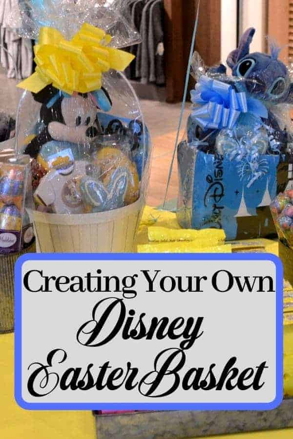Creating Your Own Disney Easter Basket